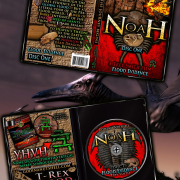 Noah: Disc One of Noah Collector's Set. Noah Disc One by Trey Smith shown inside & out.