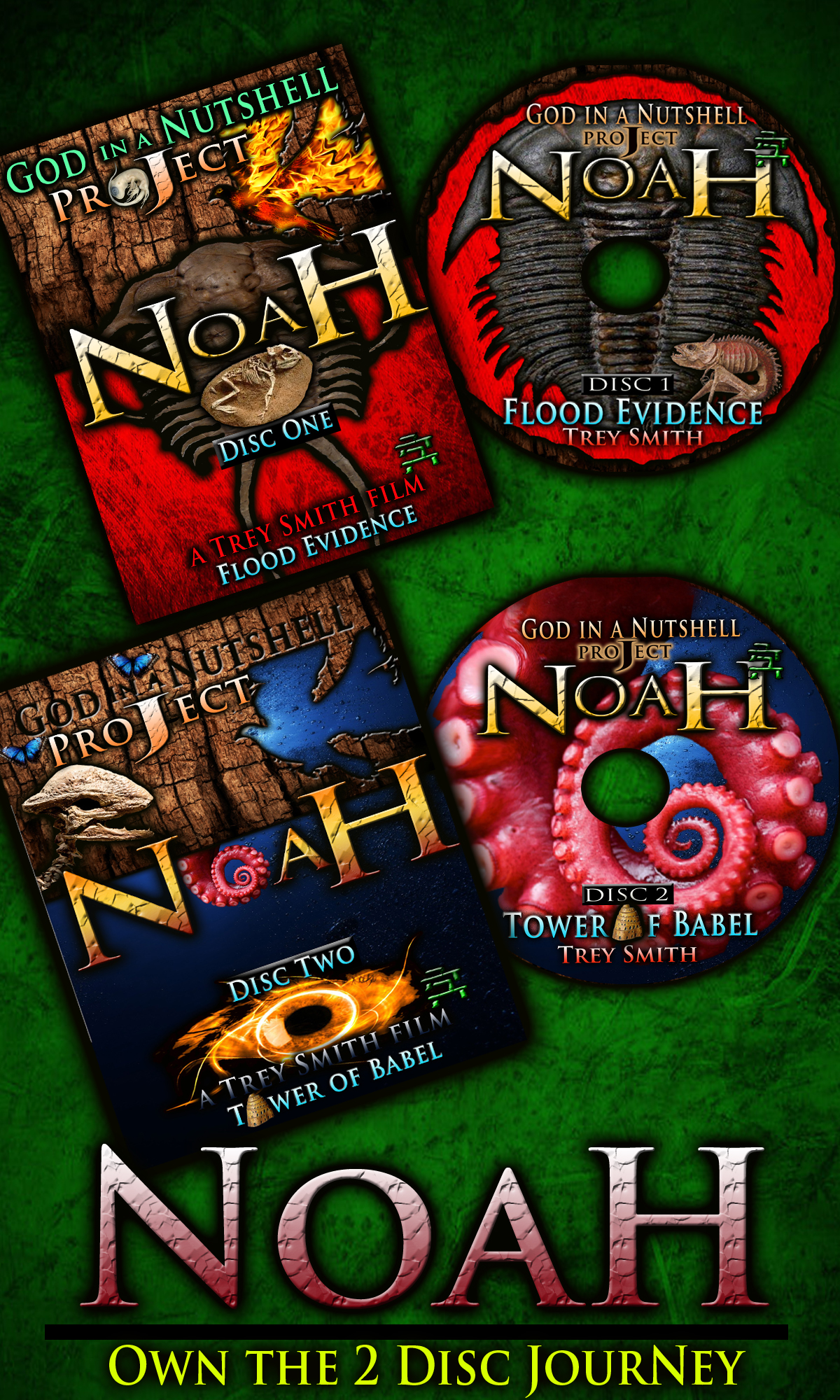 Noah: Own the DVD today