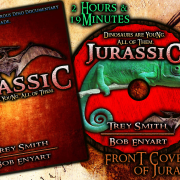 Jurassic (2015): Front of DVD