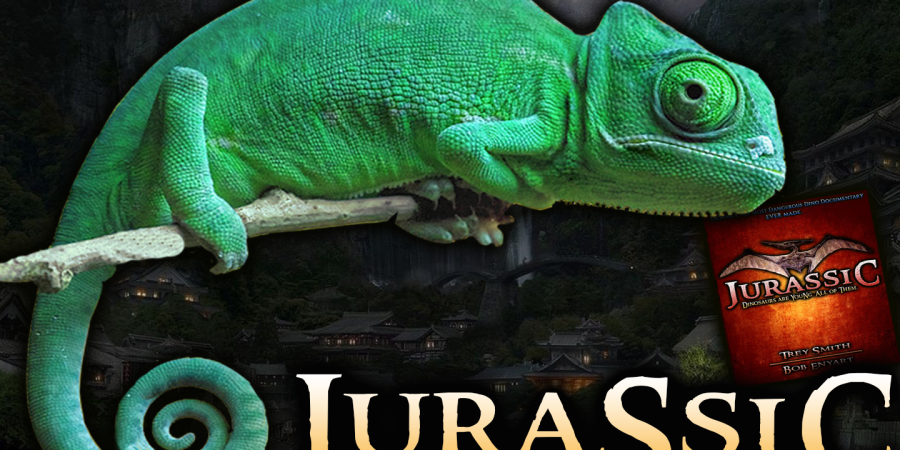 Jurassic: Official Jurassic DVD….. REAL Jurassic World