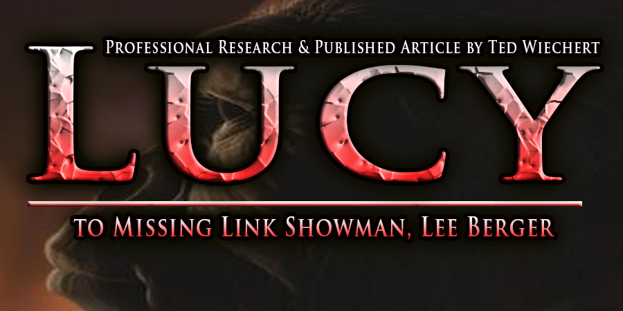Lucy to Homo Naledi: Missing Link Hoaxes, Fraud, Lies & Occult