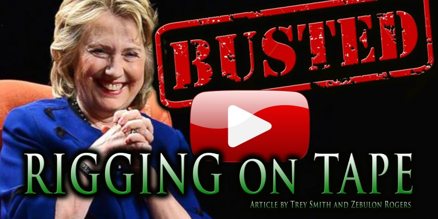 Hillary Clinton Election Rigging: NOW BUSTED on TAPE (VIDEO)