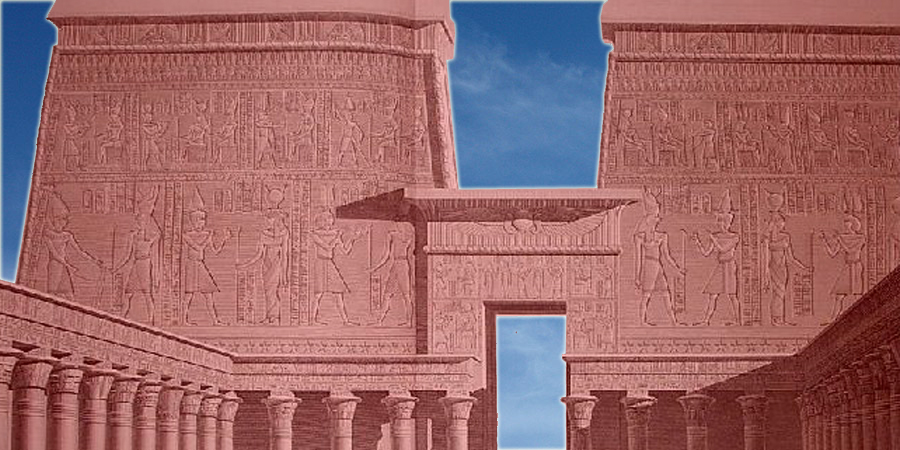 Twin Towers of Horus and Pentagon of Hathor (Ancient Egypt Reborn Series.)  pt.1