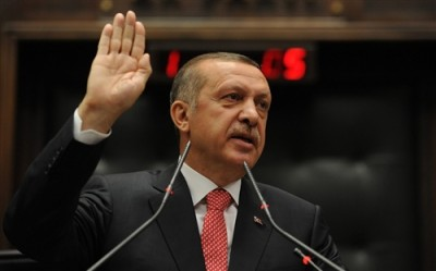 Turkey's Erdogan Vows to Topple Syria's Assad