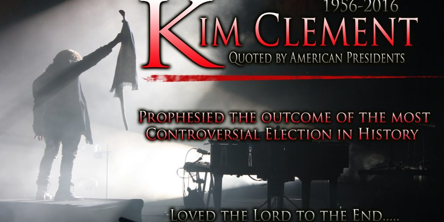 Kim Clement: the LAST PROPHECY of Kim Clement