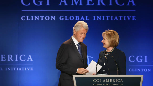 Following the Clinton Foundation Money