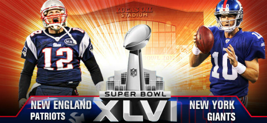 Super Bowl 46 on 2/5/2012