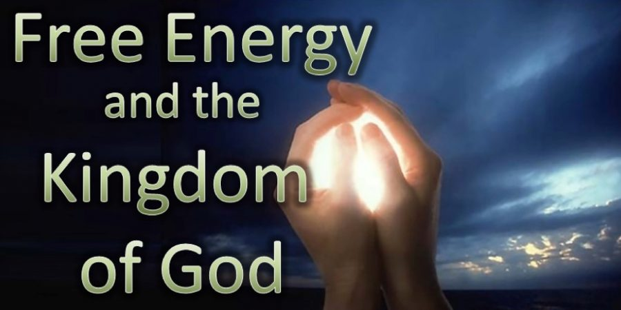 Free Energy and the Kingdom of God/with video