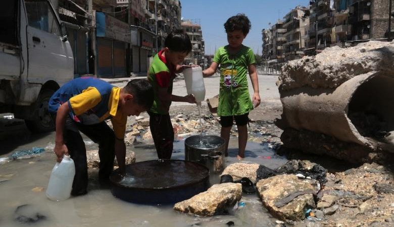 ISIS Cuts Water to Aleppo & Damascus
