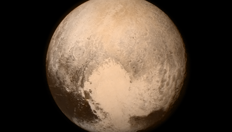 THE YOUTHFULNESS OF PLUTO