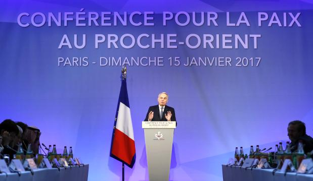 Paris Middle East Peace Conference Concludes