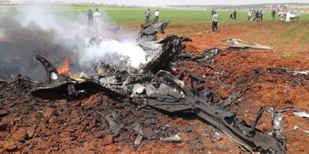 US F18 Shoots Down Syrian Fighter Jet