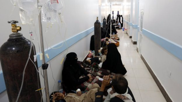 Pestilence, Cholera Spirals in Yemen/Quake off N Korea