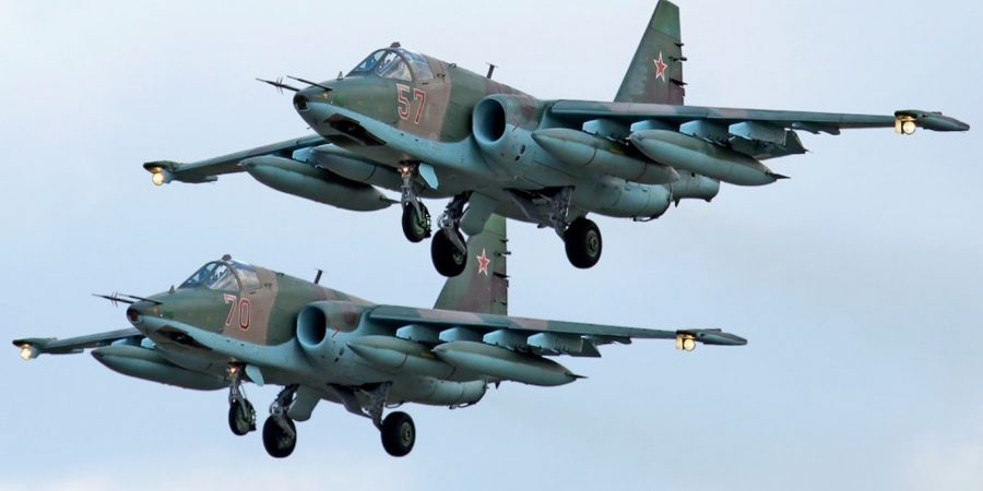 Russian & American Jets Engage Over Euphrates River