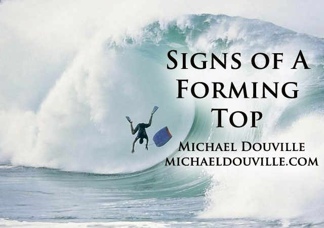 Signs of a Forming Top