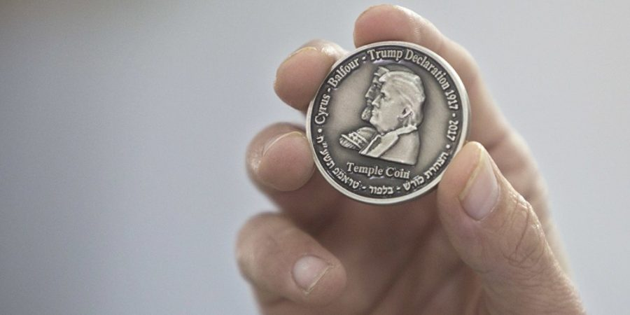 Trump Temple Tax Coin Minted
