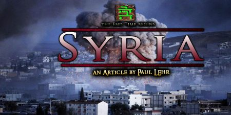 SYRIA: Prophecy of Syria / Damascus. Trump bombs Damascus
