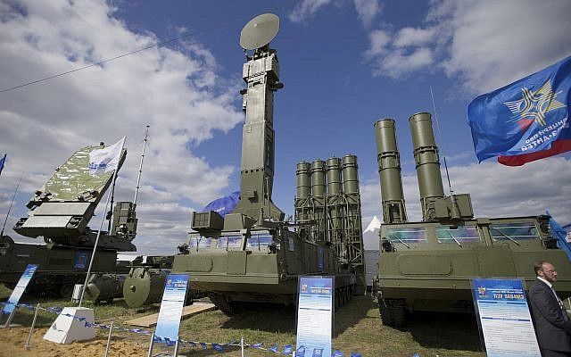 Russia Gives S-300 Missile System to Syria