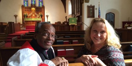 Christine McDonald & Bishop Michael Curry