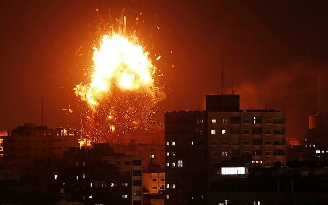 Missiles Rain From Gaza