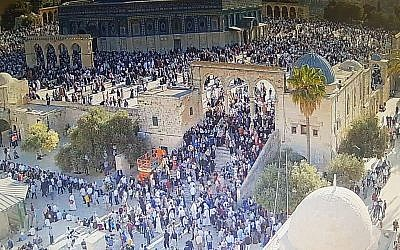 Temple Mount Violence: Tisha B`Av, 9th of Av, 5779/2019