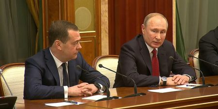 Putin Presents Constitutional Changes, Russian Gov't Resigns