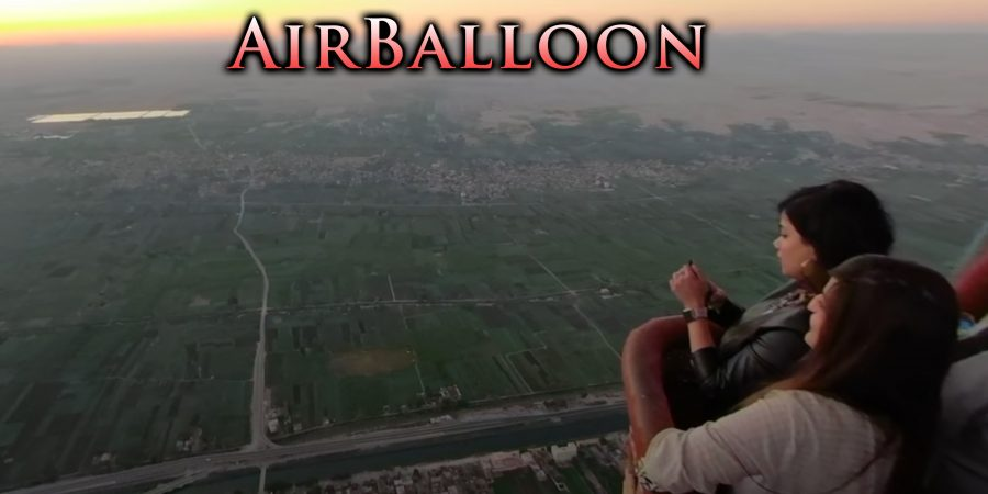 Nile: Air-balloon Ride with Trey