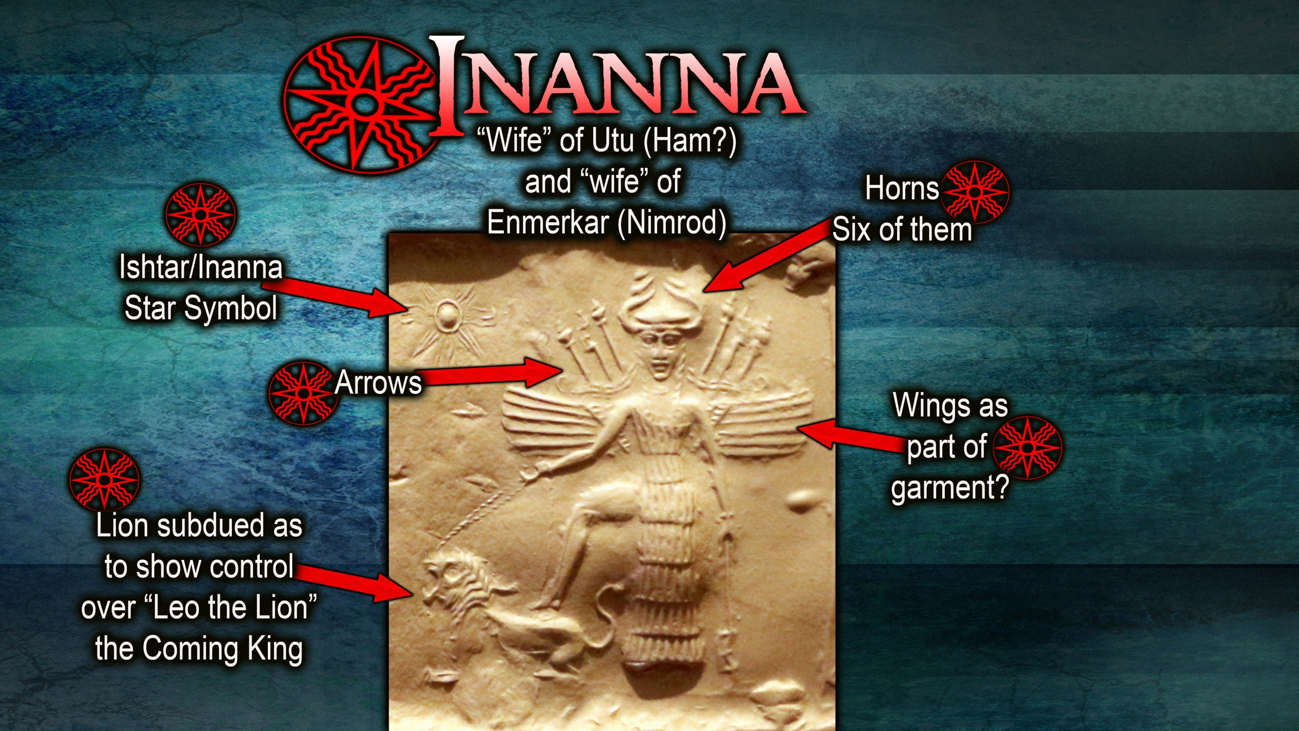 """Inanna: Claimed """"Queen of Heaven"""""""